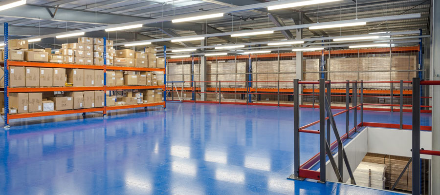 Luxonic new warehouse