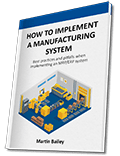 MRP book - how to implement a manufacturing system