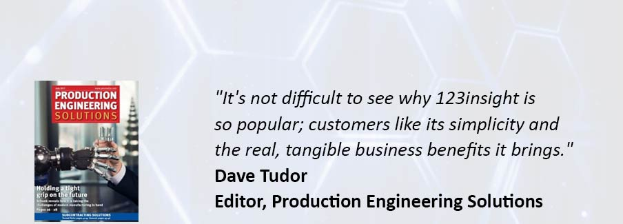 Read the full Production Engineering Solutions article from July 2017 here